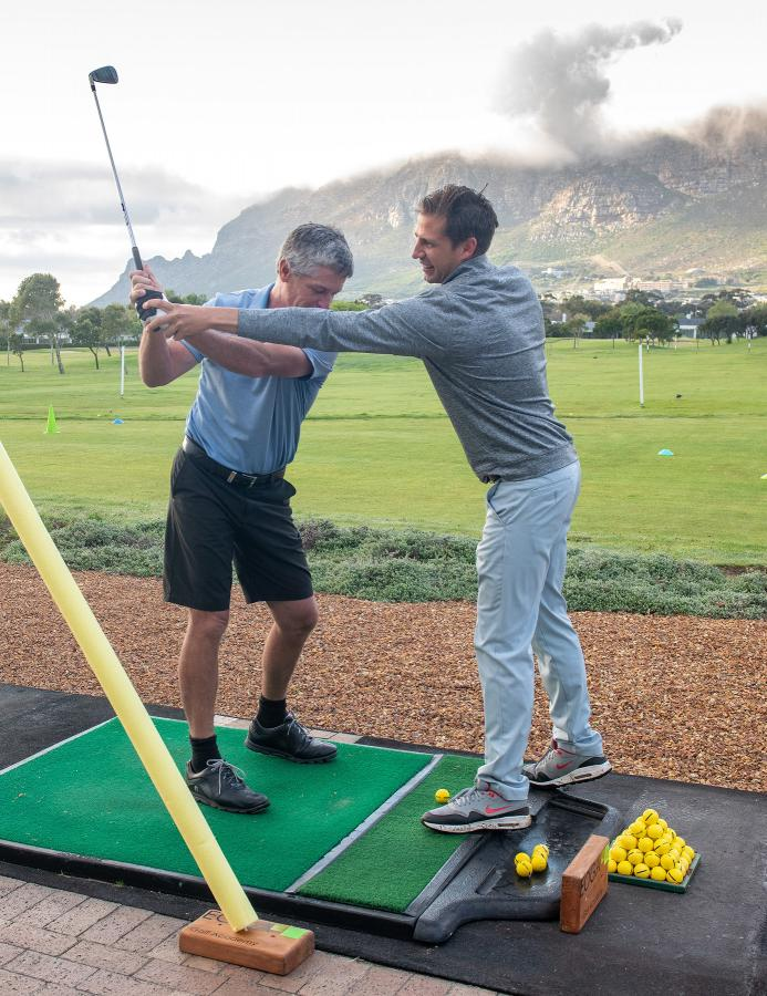 Golf lessons at EOGA Steenberg